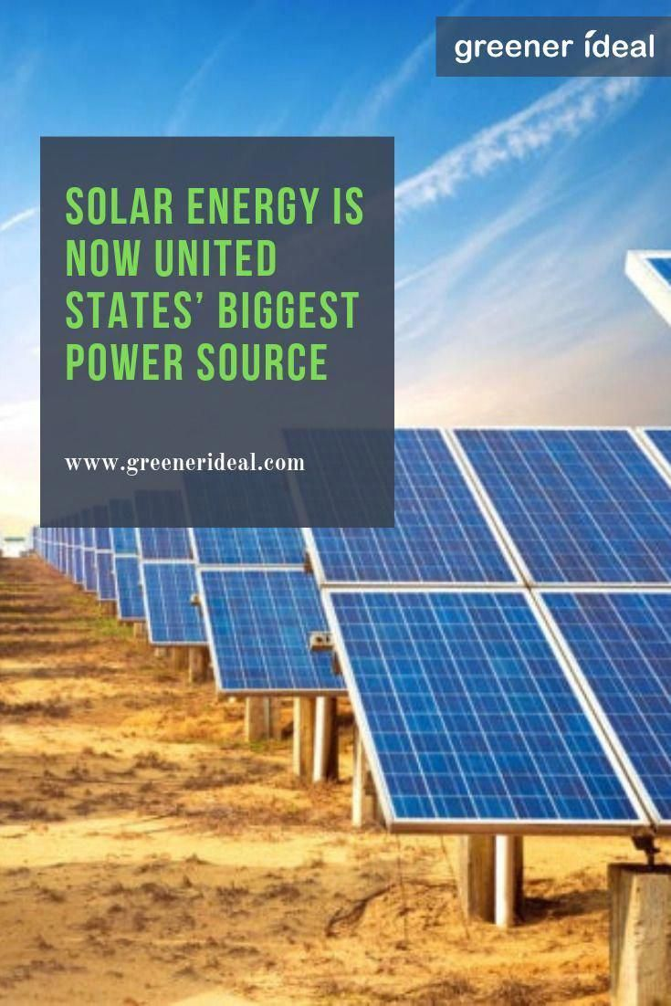Enormous Solar Panel Fields Made The Growth Possible With Many Homeowners And Businesses Owned Solar Projec In 2020 Solar Energy Panels Solar Energy Solar Power Panels