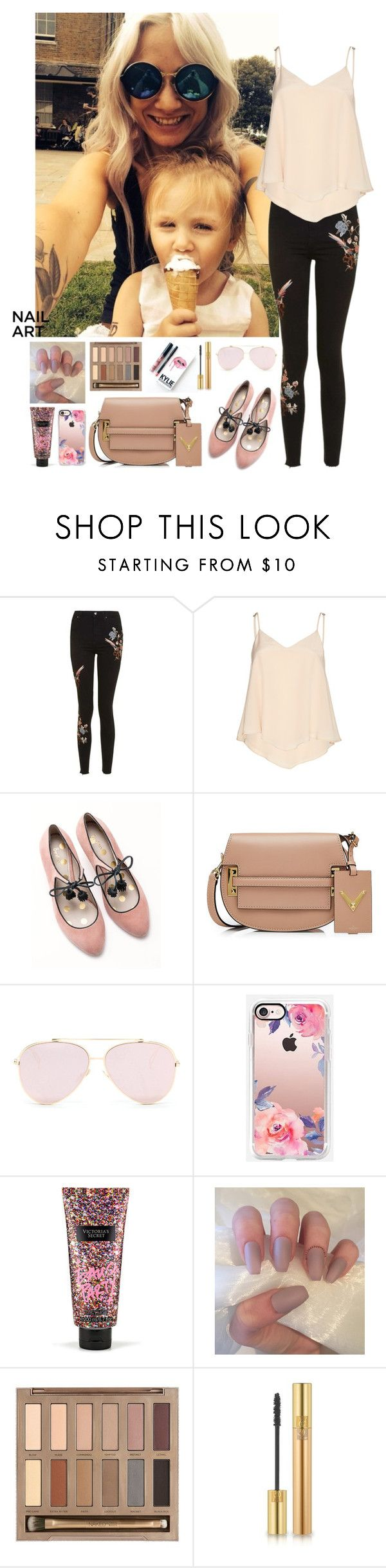 """""""Lou Teasdale #1"""" by ambere3love34 ❤ liked on Polyvore featuring beauty, Topshop, Alice + Olivia, Boden, Valentino, Casetify, Victoria's Secret, Urban Decay, Kylie Cosmetics and Yves Saint Laurent"""