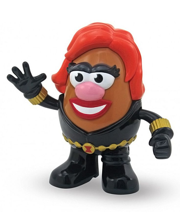 Black Widow Mrs. Potato Head PopTater by Marvel #zulily #zulilyfinds