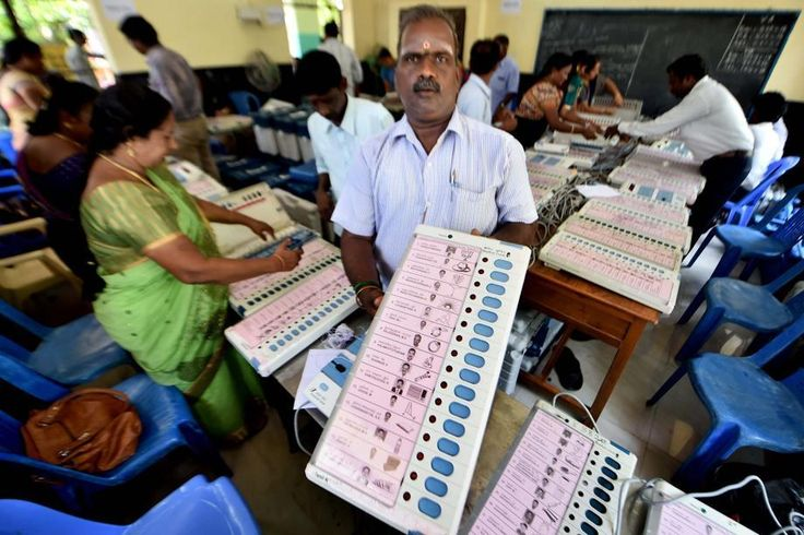 In a country like India, electronic voting machines (EVMs) could be much more welfare-enhancing than paper ballots. Photo: PTI