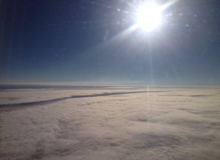 Over the clouds BUDAPEST✈️DUBAI