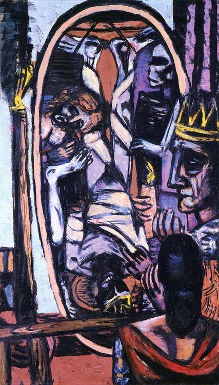 peira:  Max Beckmann:  King Saul (1947)