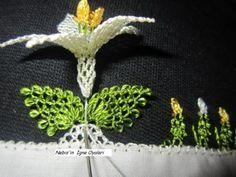 İğne Oyası Kabak Çiçeğinin Yapılışı, tutorial