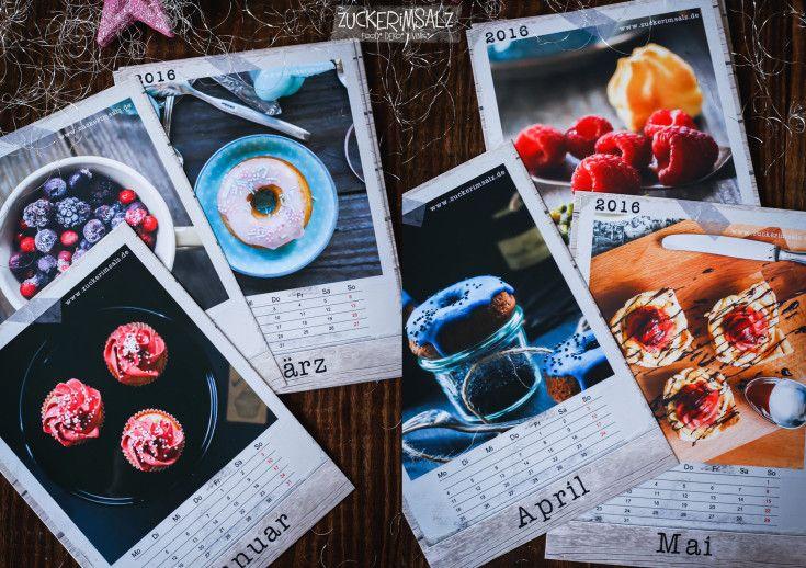 Der Zuckerimsalz Kalender 2016 - kostenlos - download - calender - freebie
