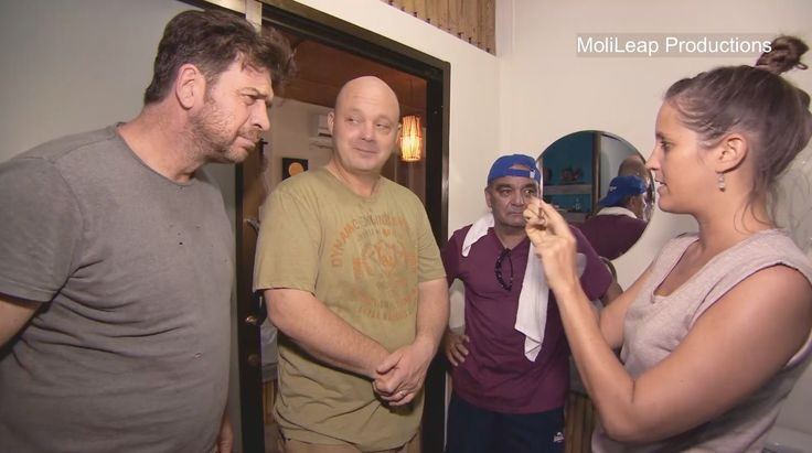 The Retreat with Nick Knowles-colonic with Dominique-omdetox.com
