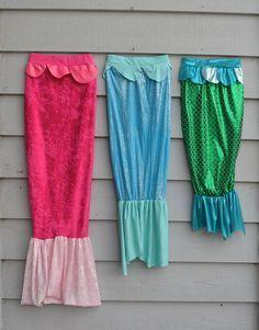 Meerjungfrau Kostüm für Kinder (Anleitung)