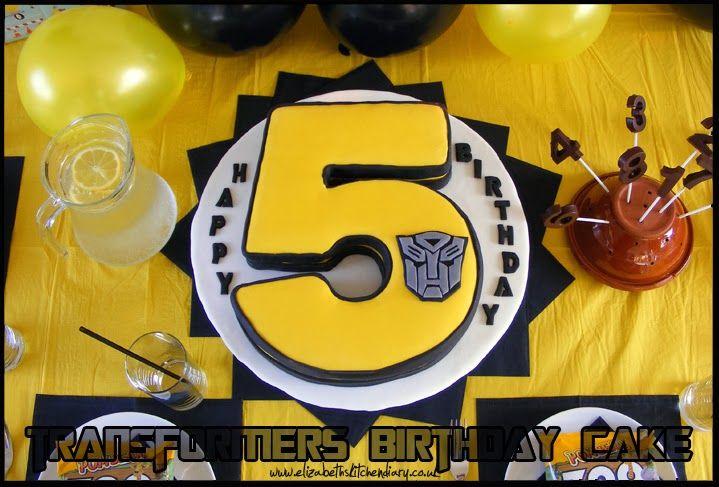 Lekue numbered silicone cake pan: Transformers Birthday Cake