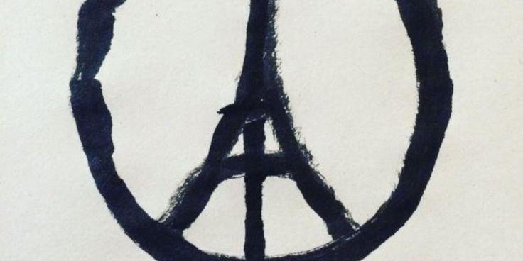 Una Tour Eiffel nera come simbolo di pace. È questo l'omaggio che Banksy, lo street artist più famoso del mondo, ha dedicato a Parigi, la capitale francese martoriata e offesa dagli atta