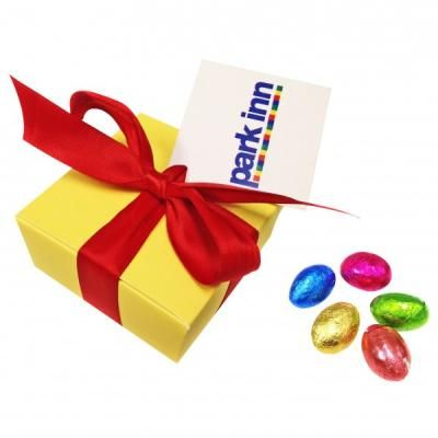 127 best easter promotions images on pinterest image of promotional gift box of wrapped easter mini eggs negle Image collections