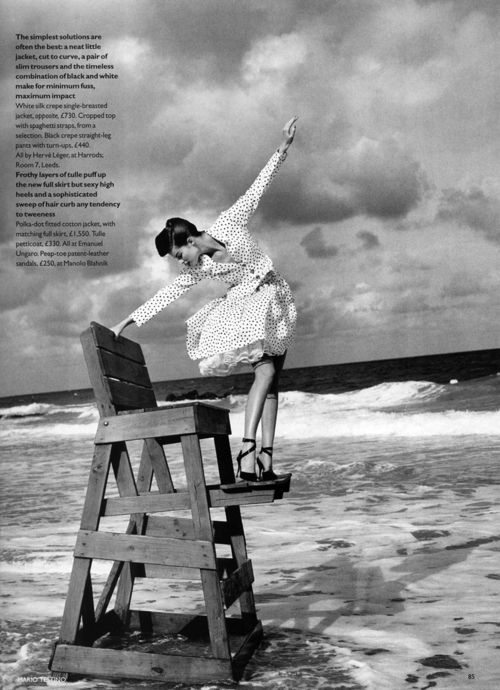 """Pretty Woman"", Vogue UK, February 1995"