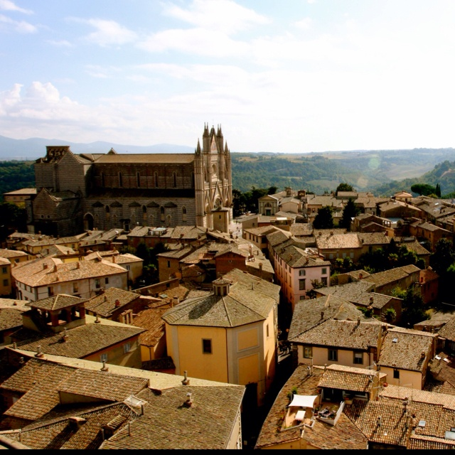 Orvieto, Italy... From the bell tower