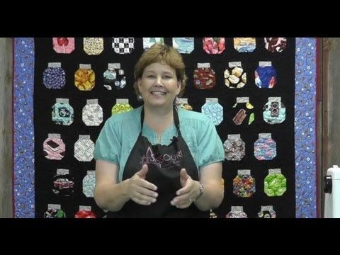 Another great tutorial!!! Jenny shows you how to make a fun I Spy Quilt or Jar Quilt. AND... if you want to win an I Spy Layer Cake, visit our facebook page http://www.facebook.com/QuiltingDeals