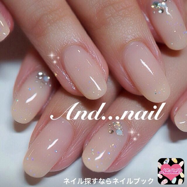 #sheer #nails #nailart