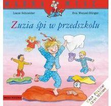 """Książka """"Zuzia śpi w przedszkolu"""" wydawnictwo Media Rodzina"""