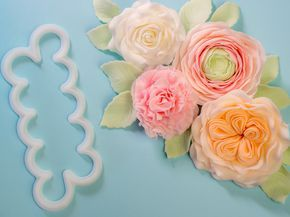 Tutorial Easiest Rose Cutter Ever Flowers (buttercup, English Rose, Rose, carnation) Bericht zum kreativen Pop-UP Event Berlin der Ferratum Bank #sponsored #Werbung #FerratumGeneration