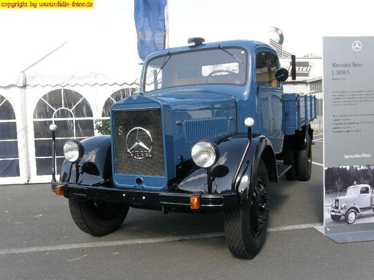 87 best images about lkw oldtimer on pinterest mercedes for Old mercedes benz trucks