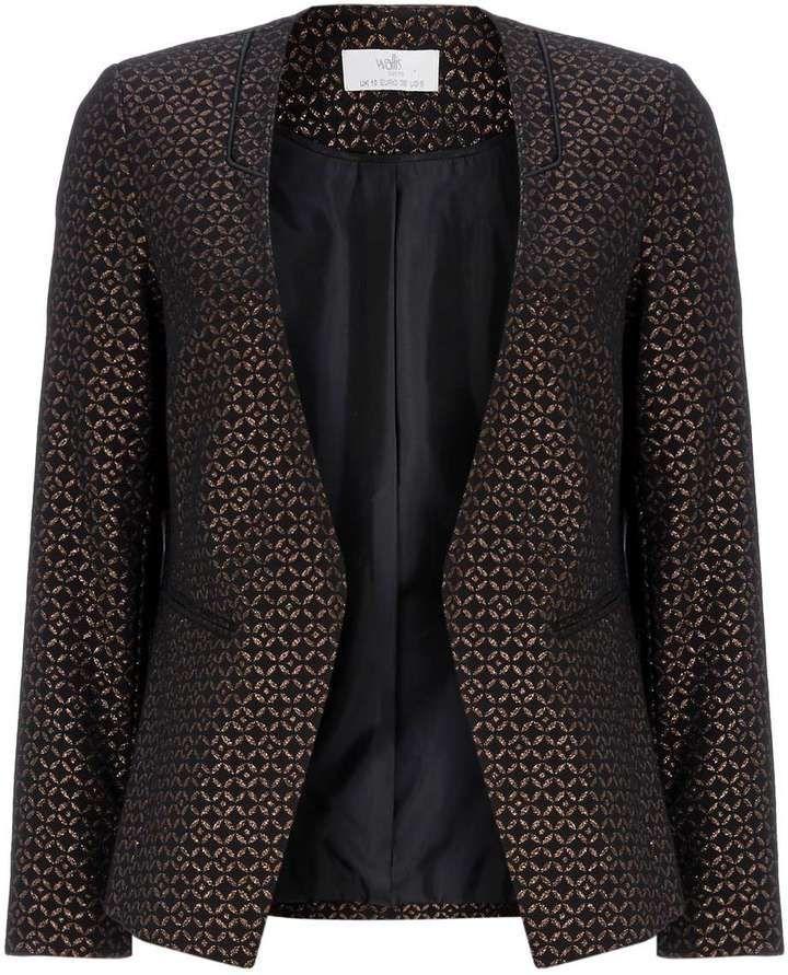 Petite Bronze Textured Jacket