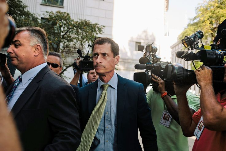 Anthony Weiner Gets 21 Months in Prison for Sexting With Teenager