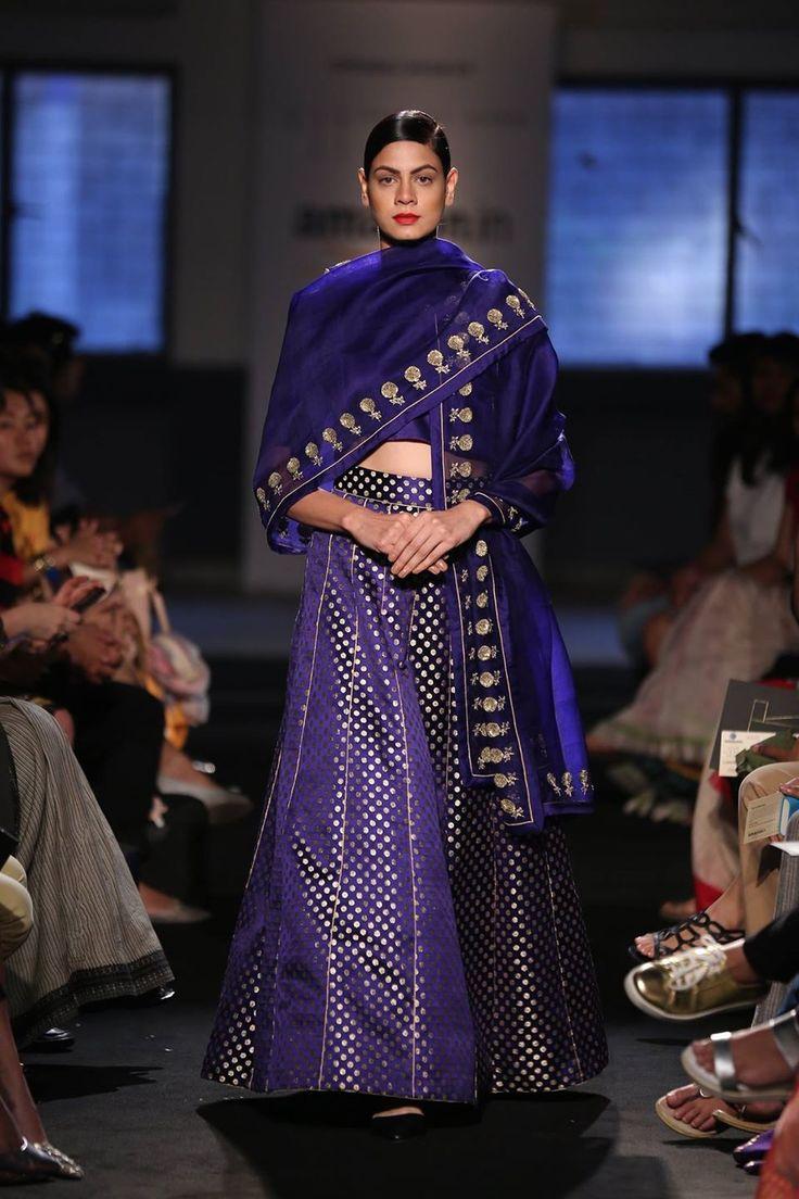 Sanjay Garg : Amazon Fashion Week 2015 : Pinned by Sujayita
