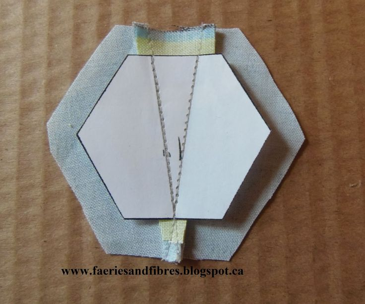 Faeries and Fibres: Tutorial: Making a hexagon star my way - part 1