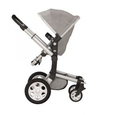 Joolz Day Complete Pram Package - Silver Chassis/Silver Fabric