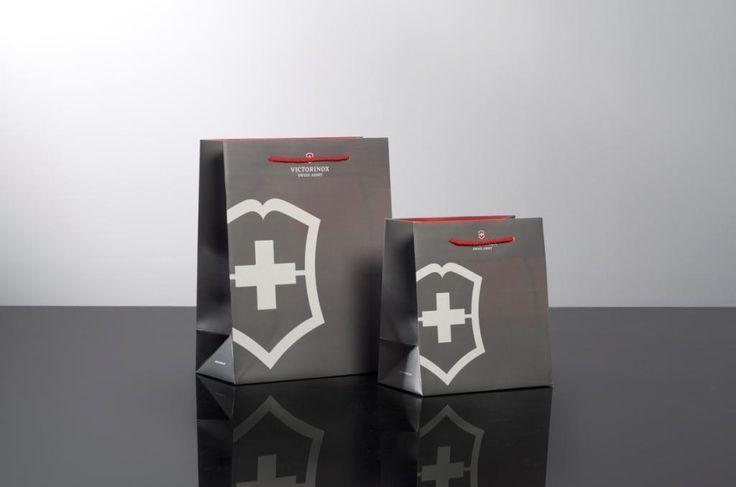 Victorinox Luxury Paper Carrier Bags - Keenpac