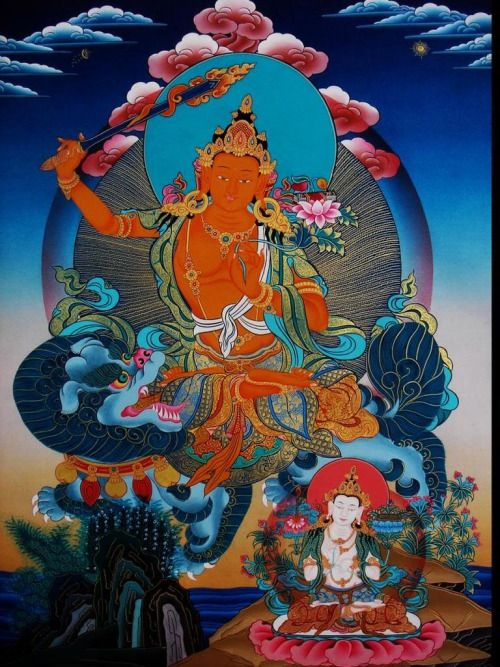 The Essance Of Wisdom & Kindess Manjushri
