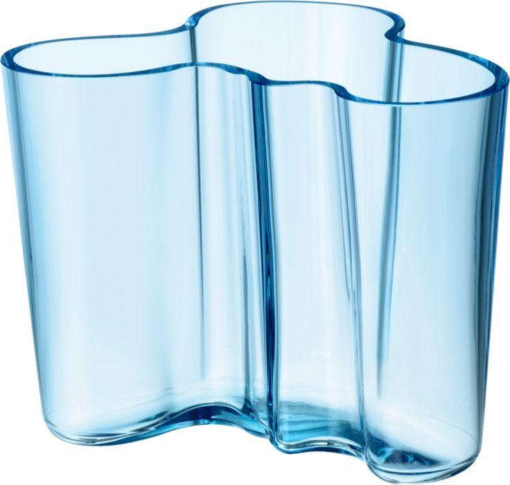 Iittala - Alvar Aalto Collection Vase 120 mm light blue - Iittala.com
