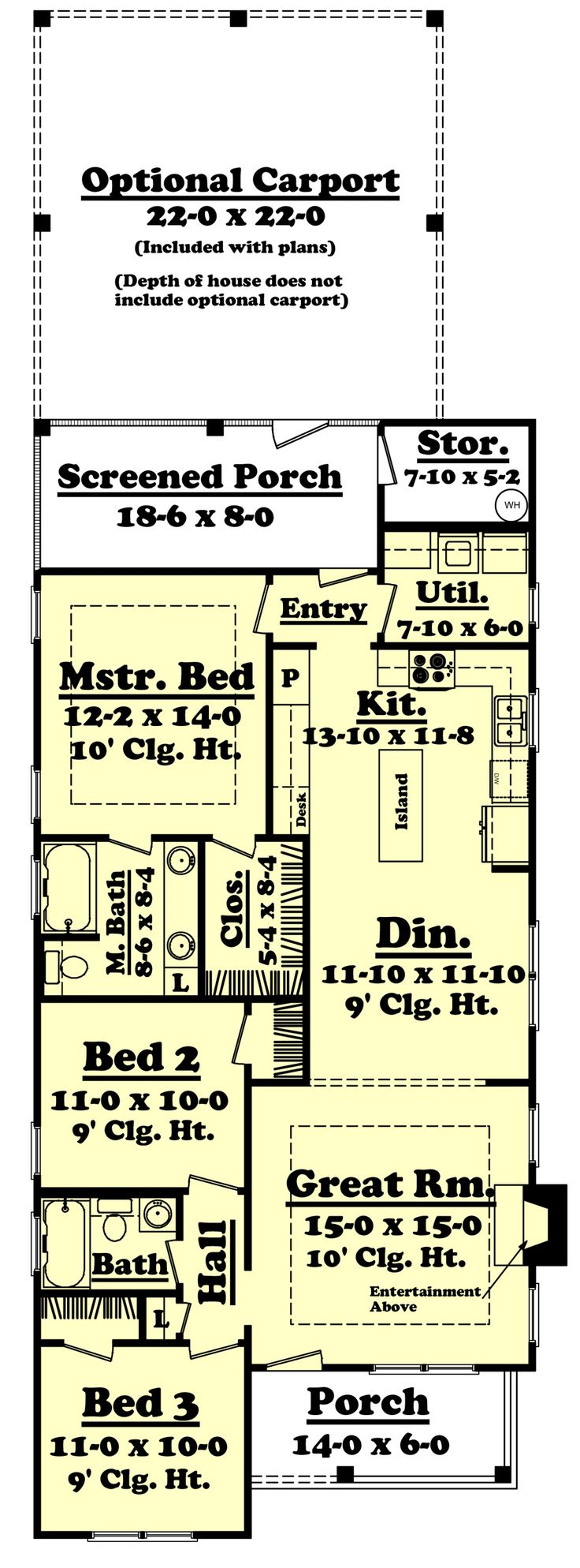 470 best dream small images on pinterest small house plans 1412 1041 main floor