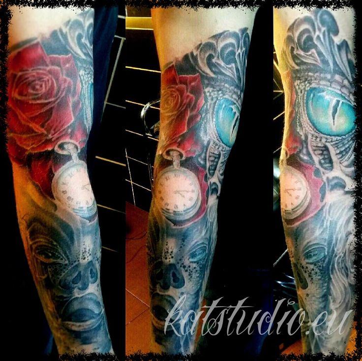 Tatuaż kolorowy   Pracownia Tatuażu Artystycznego