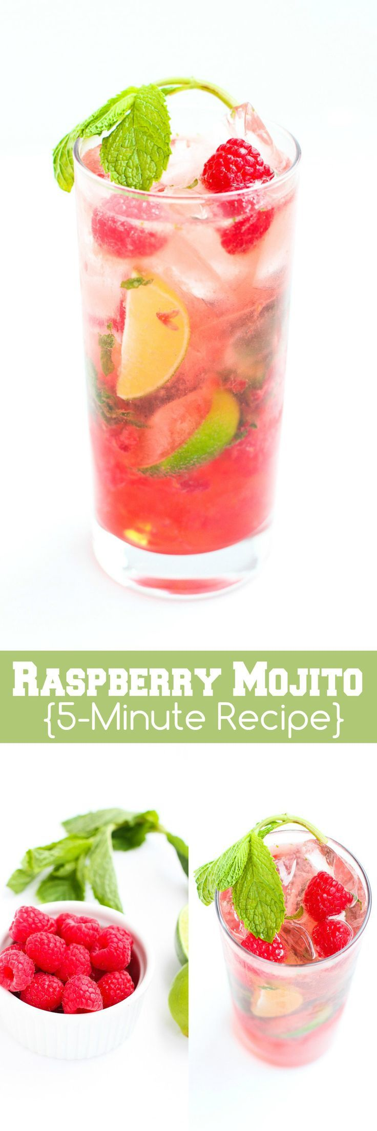 Raspberry Mojitos…Whip up this refreshing take on a classic cocktail ...