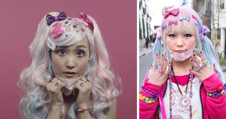 100 Years of Beauty - Japan #2010s #hair #style #fashion #makeup #decora
