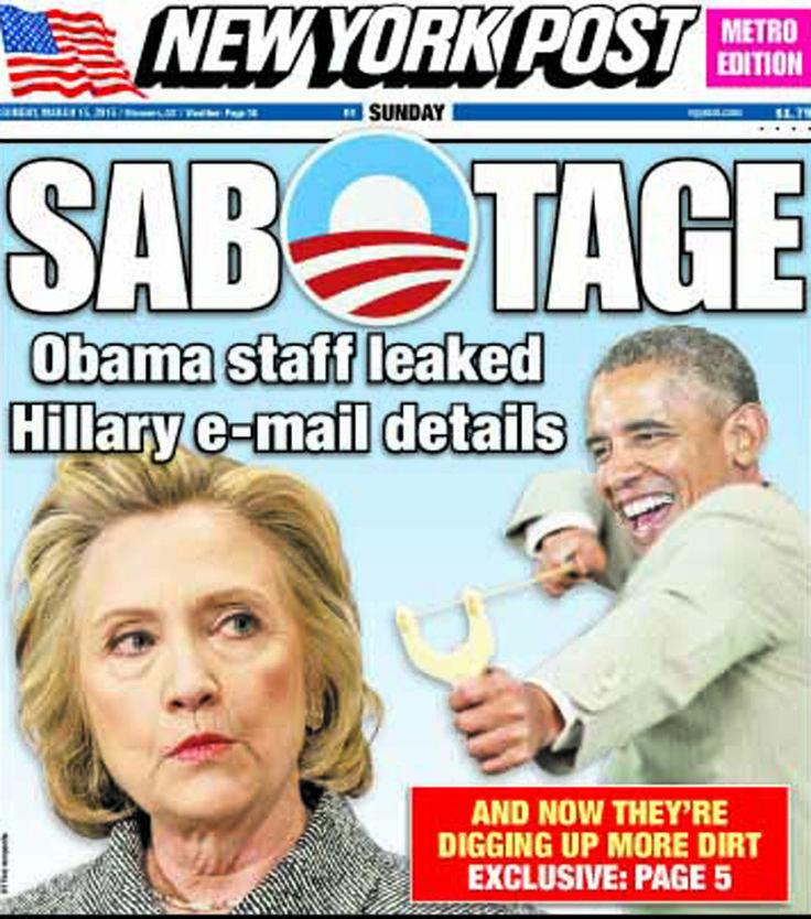 Obama adviser behind leak of Hillary Clinton's email scandal | New York Post