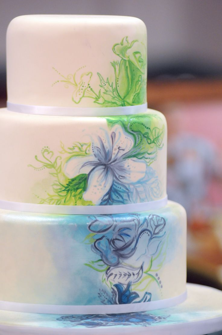 Just one of many stunning cakes at the show this year