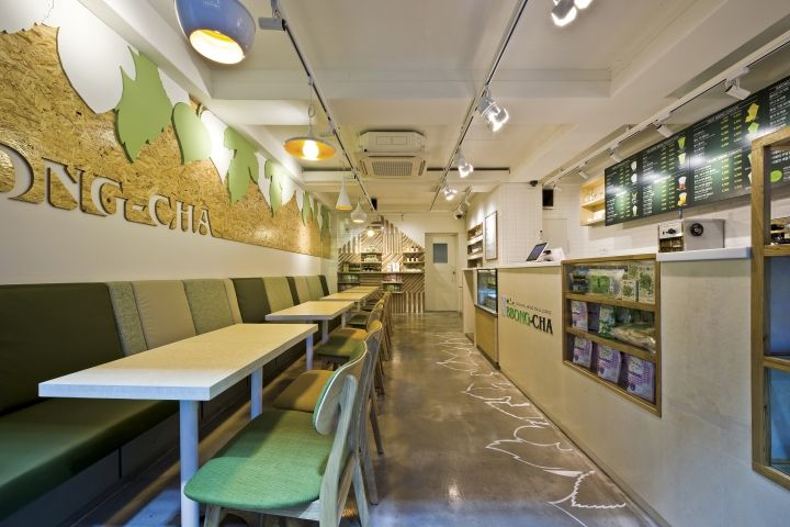 Café BBong Cha by Friend's Design, Seoul   Korea cafe