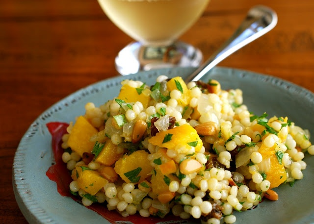 ... : Israeli Couscous with Roasted Butternut Squash and Preserved Lemon