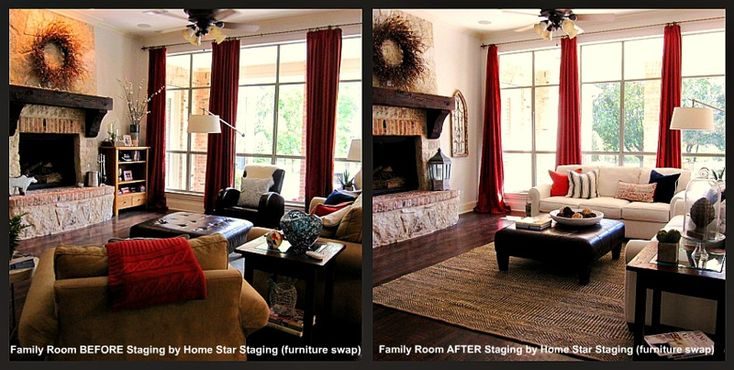 Through The Eyes Of A Home Stager A Property Transformation No Furniture Rental Required