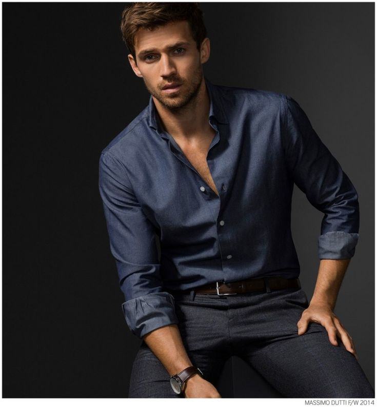 Andrew Cooper Models Limited Edition Styles from Massimo Dutti Fall 2014 5th Avenue Collection image Massimo Dutti Fall Winter 2014 NYC 5th Ave Collection 012 800x864