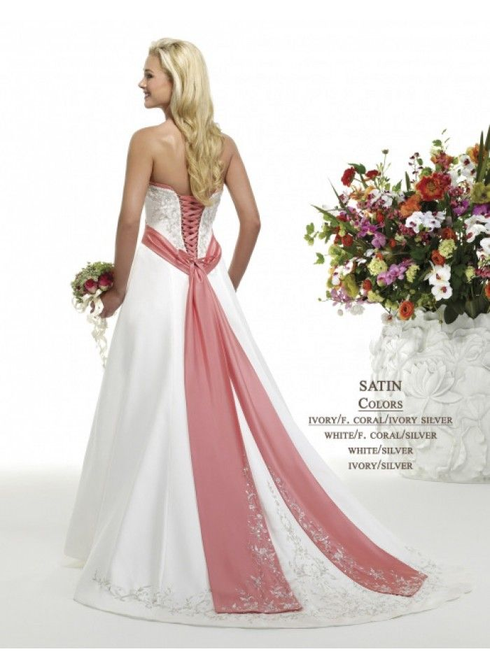 wedding dresses wedding dresses lace a line wedding dresses for curvy women spaghetti strap a-line princess/ crystal pink ribbon empire sweep train embroidery wedding dresses we2554