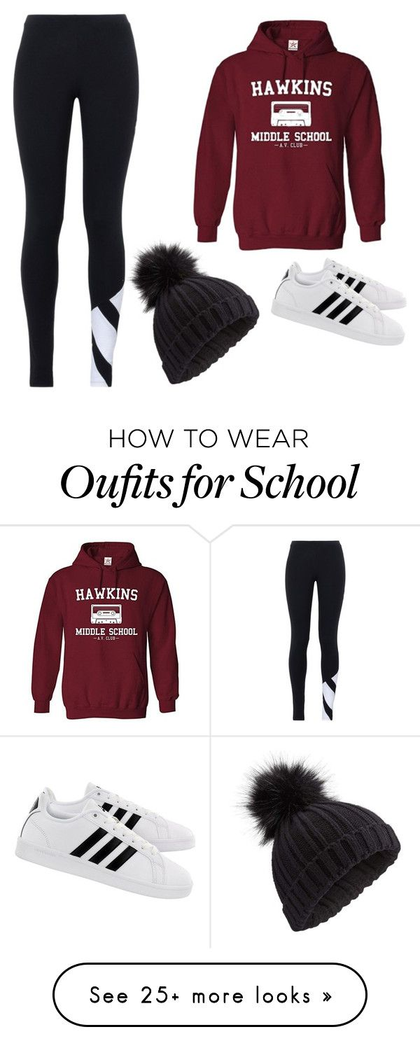 """Burrr"" by summersum988 on Polyvore featuring adidas Originals, Miss Selfridge, adidas and Hoodies"