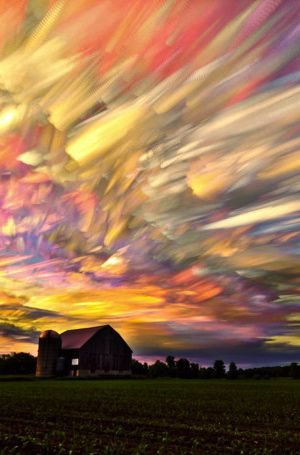 ˚Amazing Time Lapse Photography - Smeared Sky - Cornwall, UK