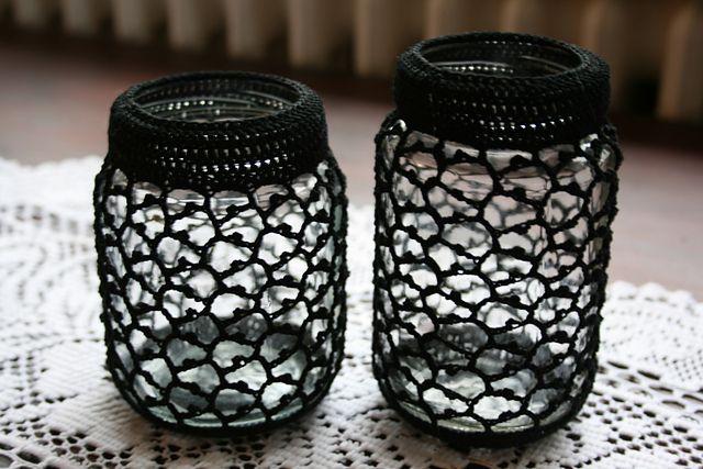 Ravelry: Crocheted Jar Cover #2 pattern by Elín Guðrúnardóttir