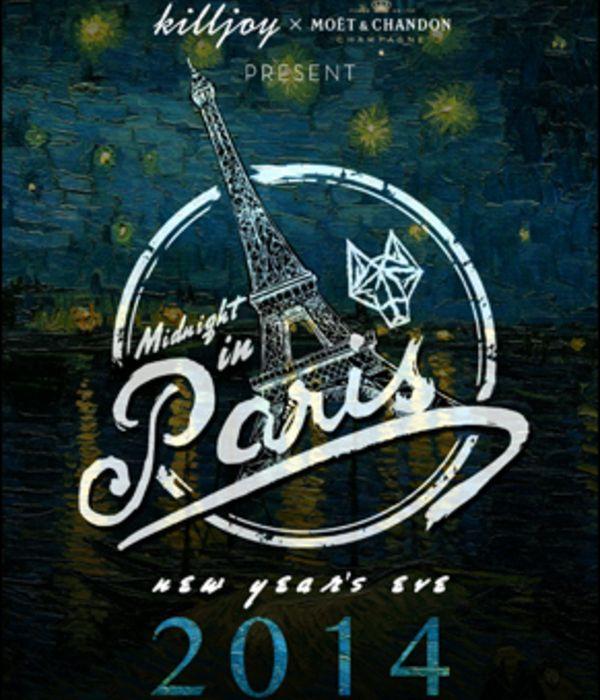 Midnight in Paris NYE 2014