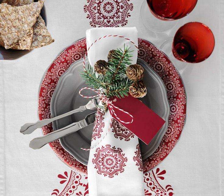 Ikea julen 2015 är traditionell – går i klassiskt rött och vitt - Sköna hem