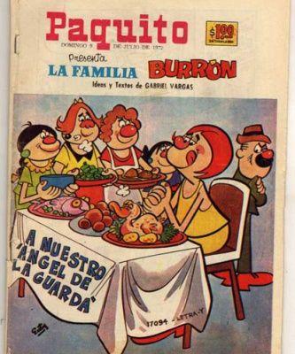 Caricaturas mexicanas: la familia Burrón