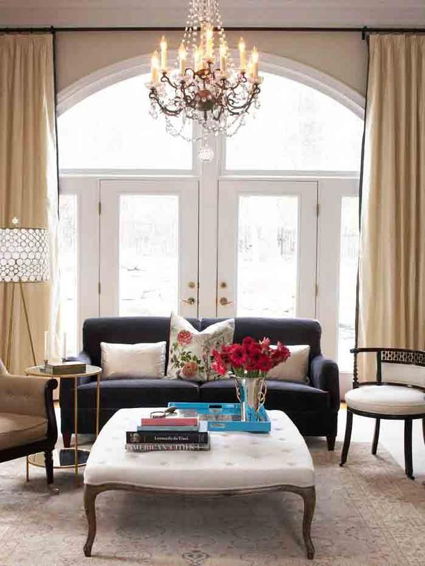 22 Best Images About Arched Window Treatments On Pinterest High Windows Mediterranean Living