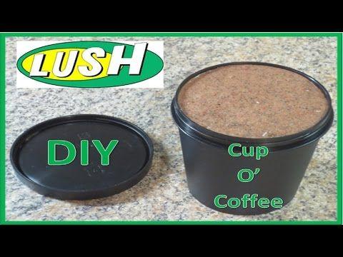 DIY LUSH Cup O' Coffee Face Mask - YouTube