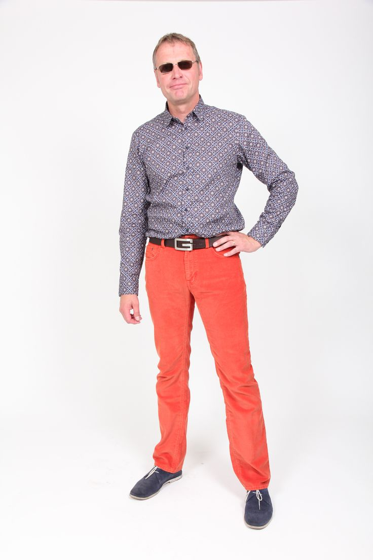 Sand shirt and Gant trousers for autumn '13.