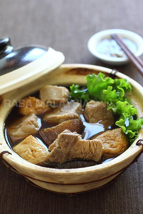 Bak Kut Teh Recipe (Pork Bone Tea Soup)   Easy Asian Recipes at RasaMalaysia.com   *simpe recipe