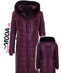 Dámska prešívana zimná bunda / kabát - trendymoda.sk